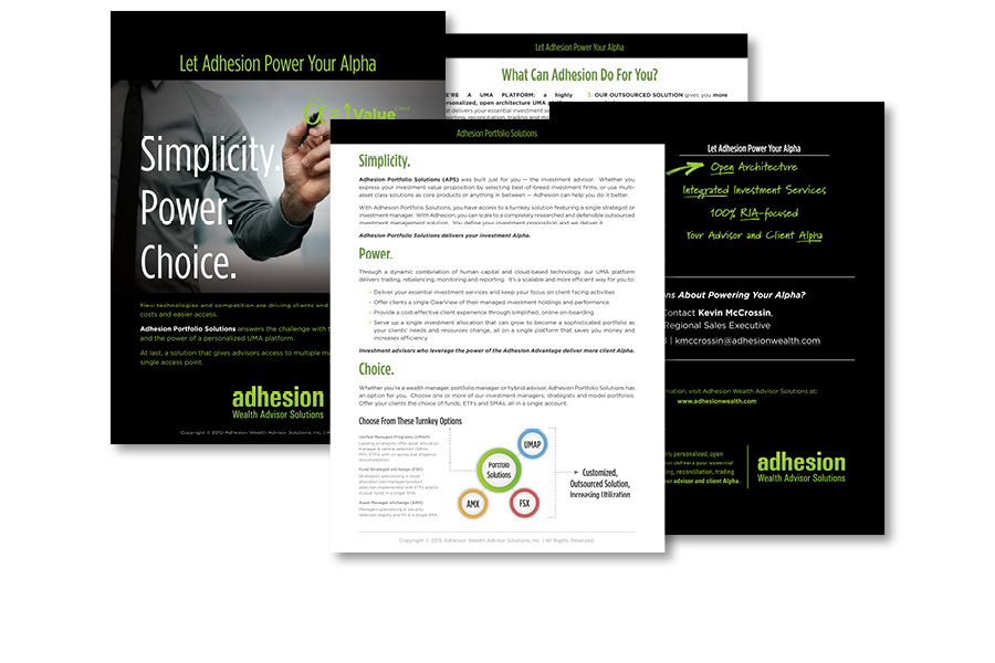 Adhesion Portfolio Solutions